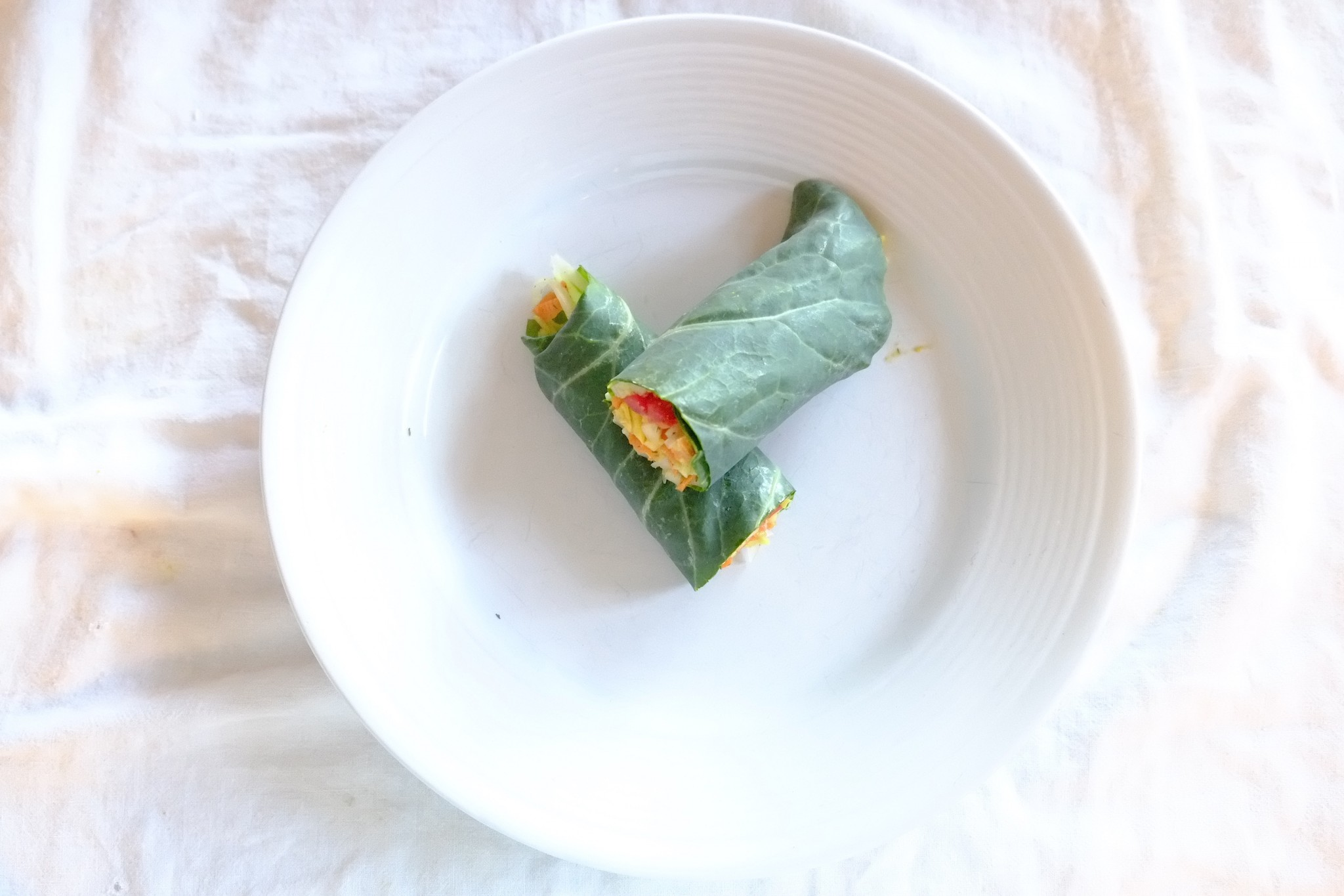 Collard Greens  Veggie Wrap
