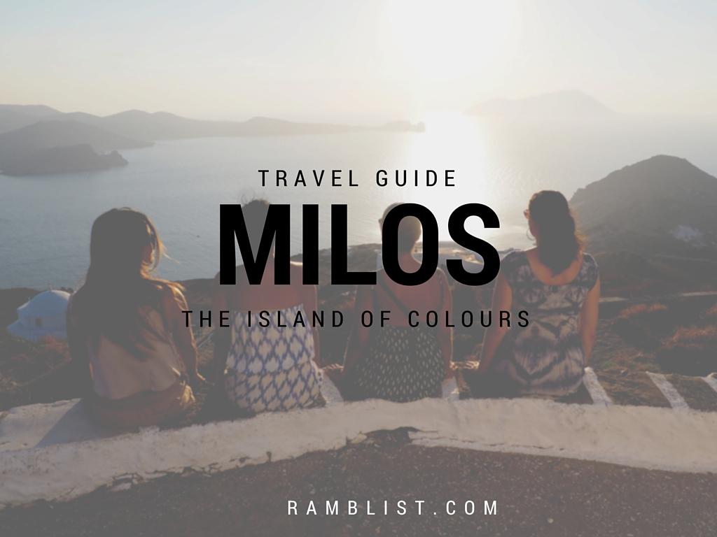 Milos Travel Guide letsregale.com 37