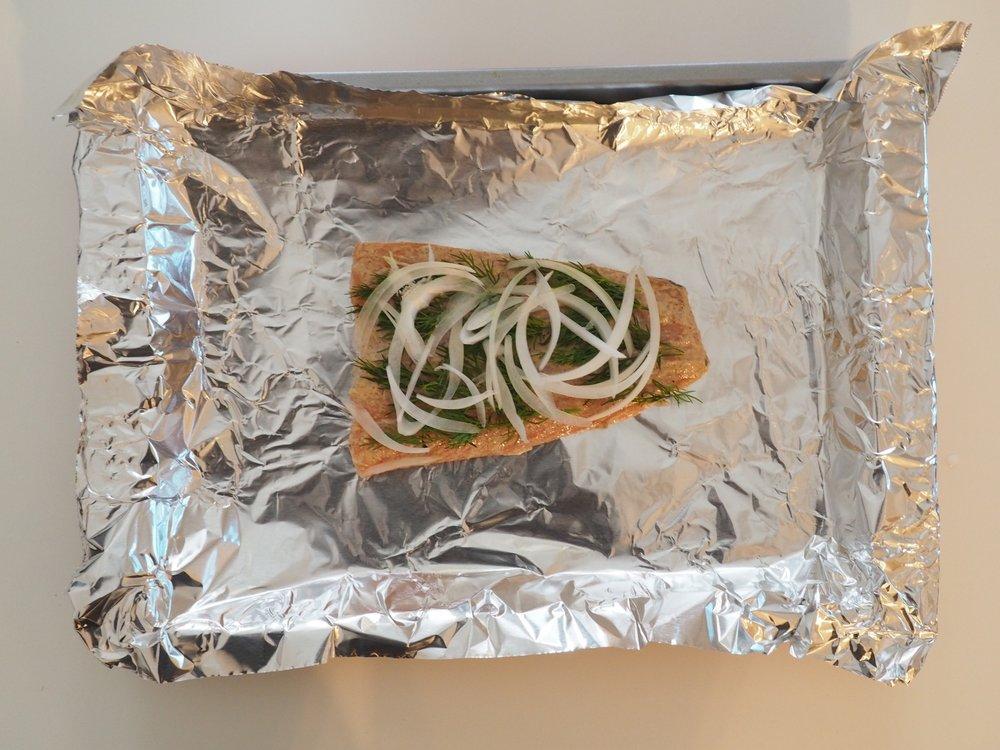 Baked Salmon Salad LetsRegale.com2