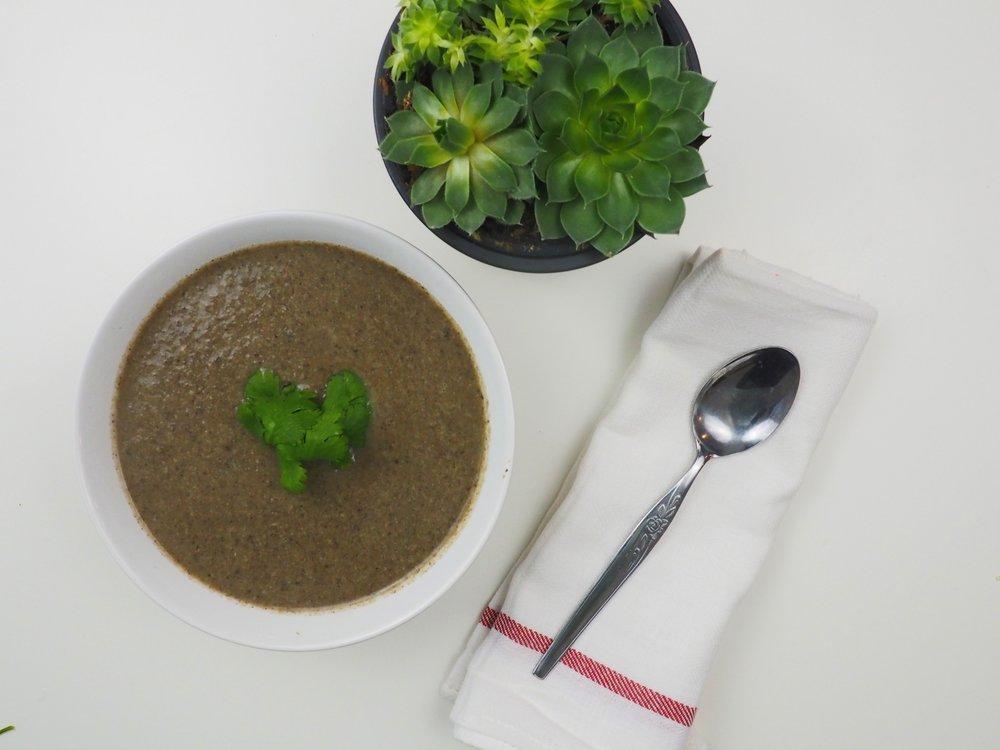 Savory Mushroom Soup5