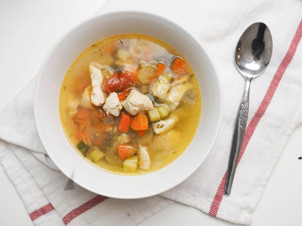 classic chicken soup-3
