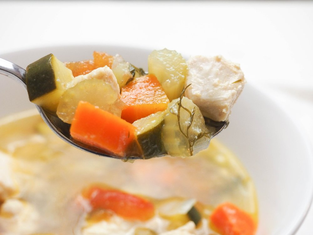 classic chicken soup-5