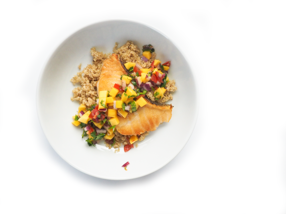 Sea Bass Quinoa Mango Salsa_2