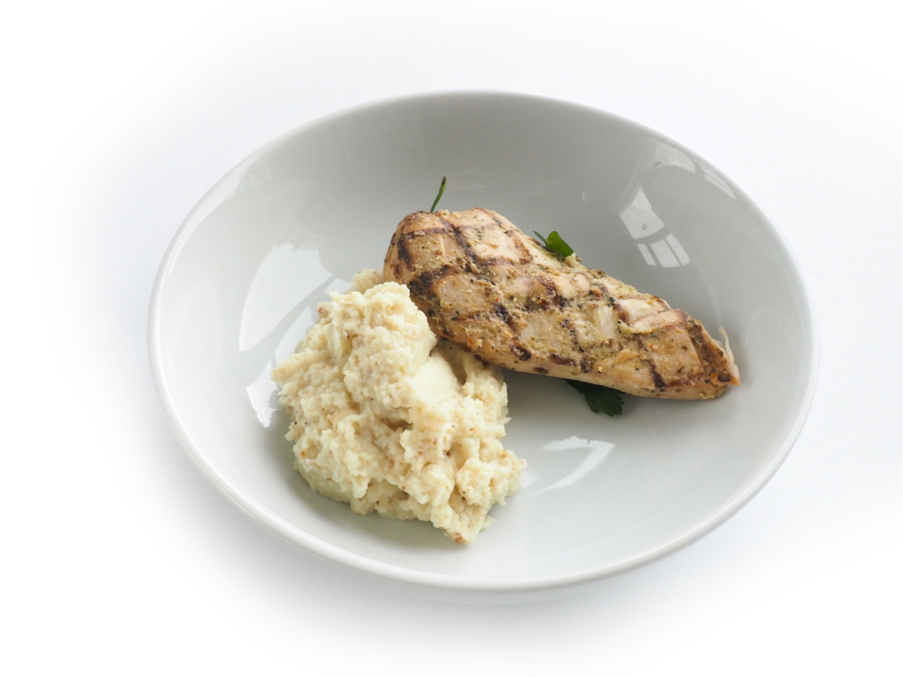 Grilled Chicken with Cauliflower Mash 3