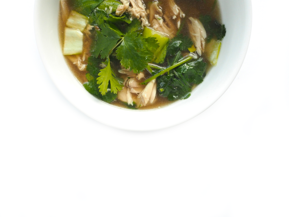 Quick Vietnamese Chicken Pho 3