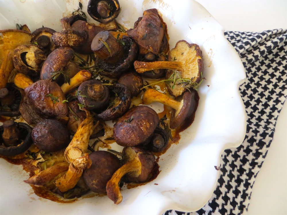 Oven Roasted Mushrooms with Lemon Thyme_11