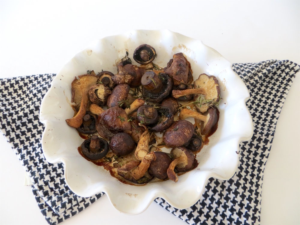 Oven Roasted Mushrooms with Lemon Thyme_9
