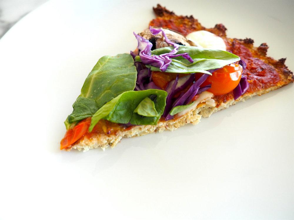 Perfecting Cauliflower Crust Pizza