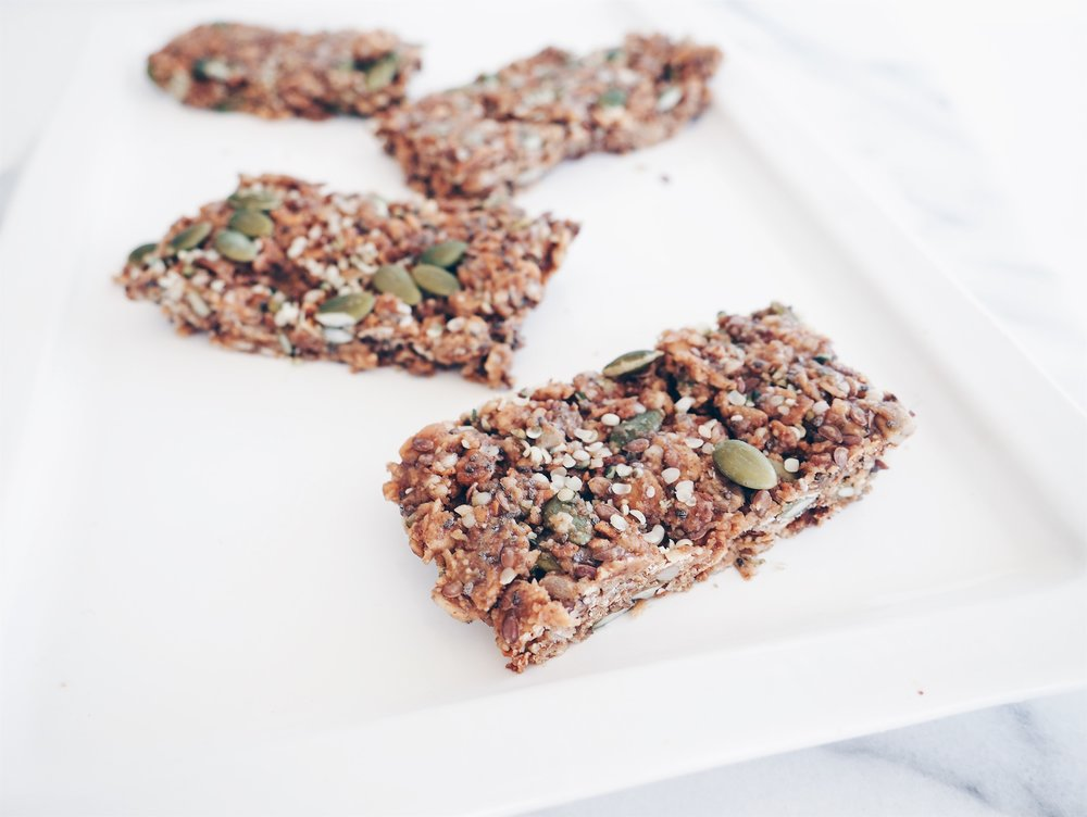 No-Bake gr8nola Bars (Gluten-Free + Vegan)