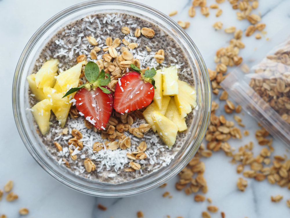 Coconut Chia Breakfast Porridge