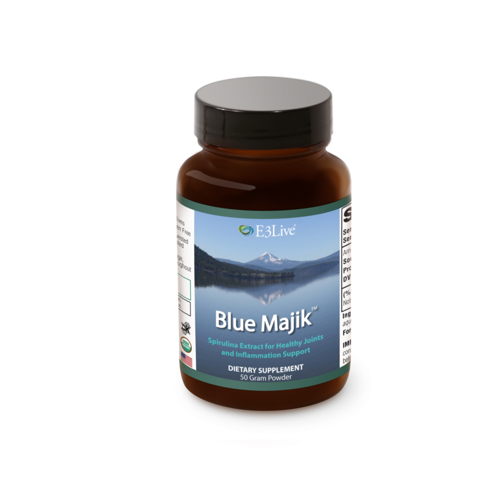 E3Live Blue Majik Powder