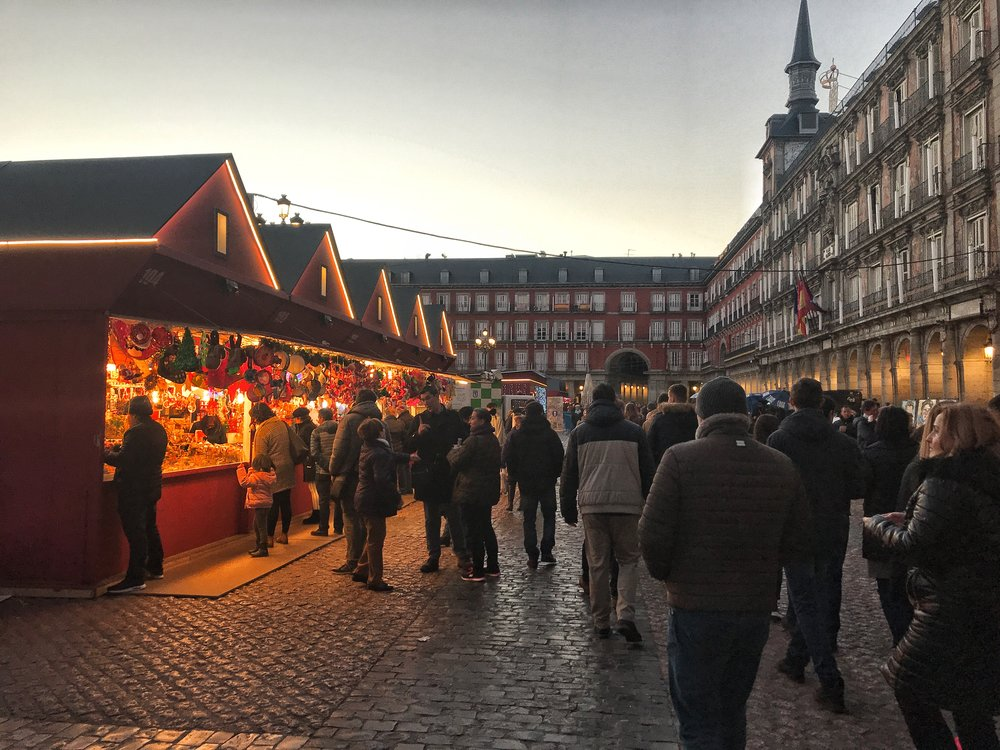 Insiders guide to madrid christmas markets
