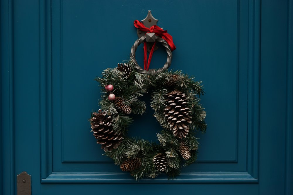 Welcome Your Guests in Style - Spruce up your front door with a fabulous wreath, even if you're in an apartment! A little seasonal greenery is an inviting way to welcome guests to your home in style.