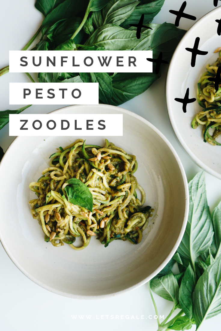 Sunflower Pesto Zoodles  - soy free gluten free zoodles  - www.letsregale.com  (1).png