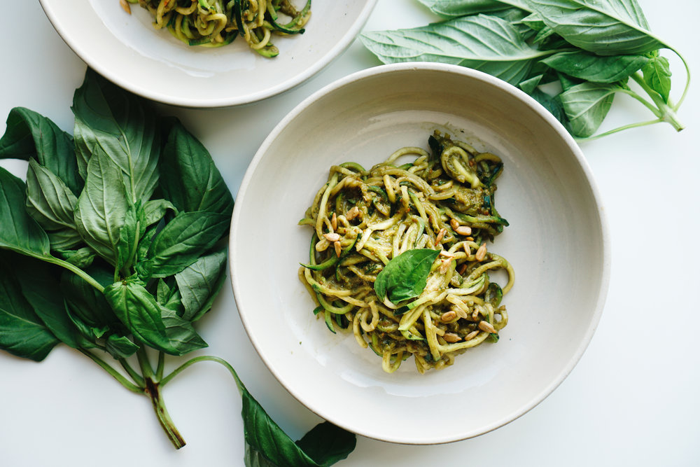 Sunflower Pesto Zoodles - Gluten Free, Soy Freee, Wellness, Clean Eating Recipes - www.letsregale.com -7.jpg
