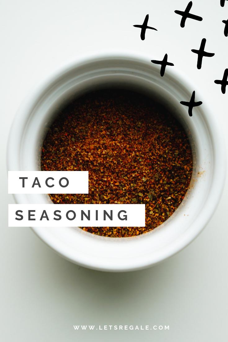 Taco Seasoning - Keto Recipe, Low Carb, Gluten Free  - www.letsregale.com .png