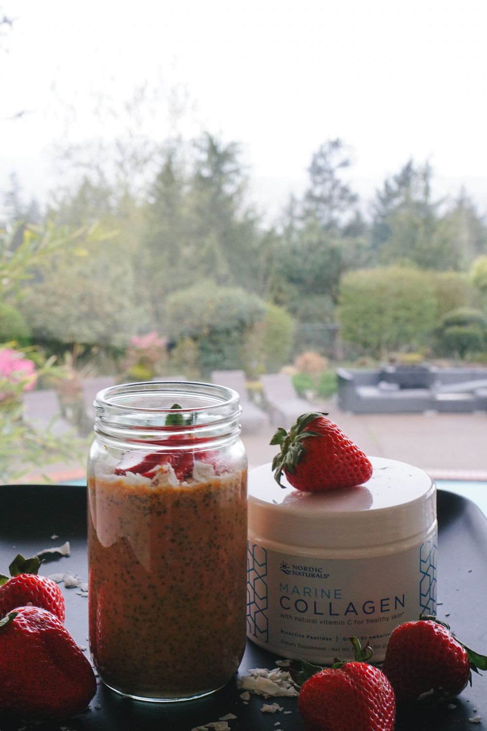 Nordic Naturals Collagen Strawberry Fields Collagen Chia Pudding  - healthy meals, gluten free, keto friendly, low carb - www.letsregale.com _ 8.jpg