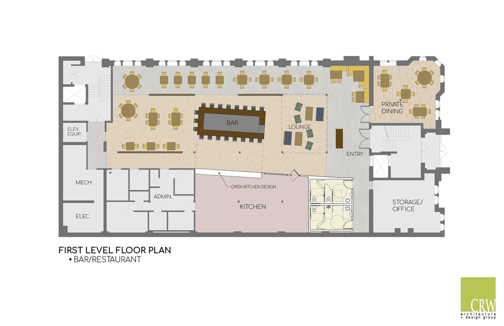 First floor concept