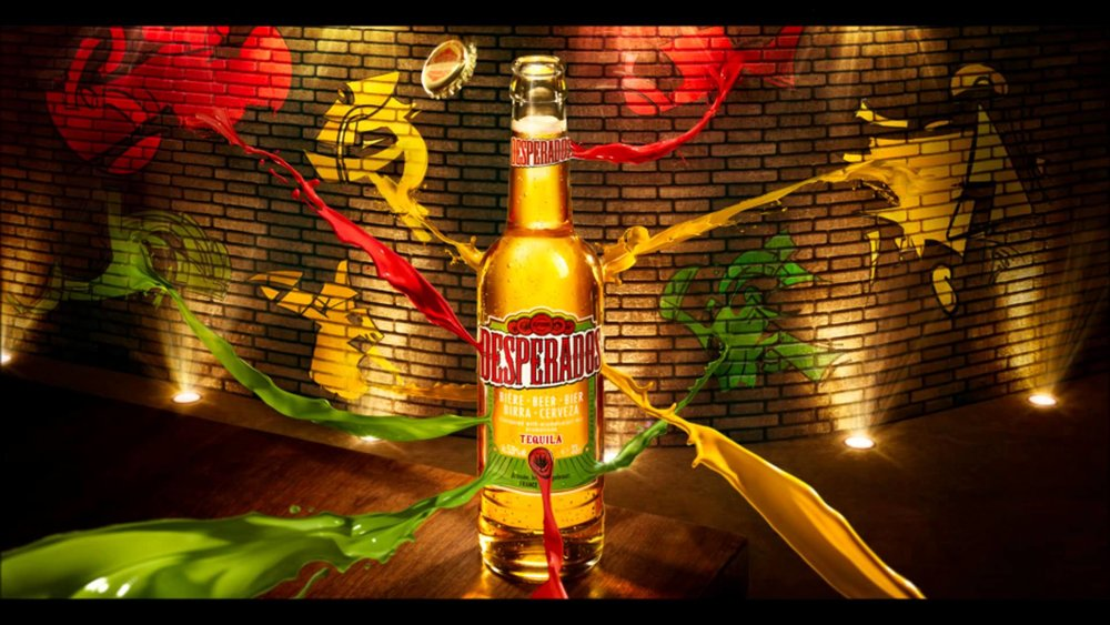 Click on the bottleto visit theDesperados website! -