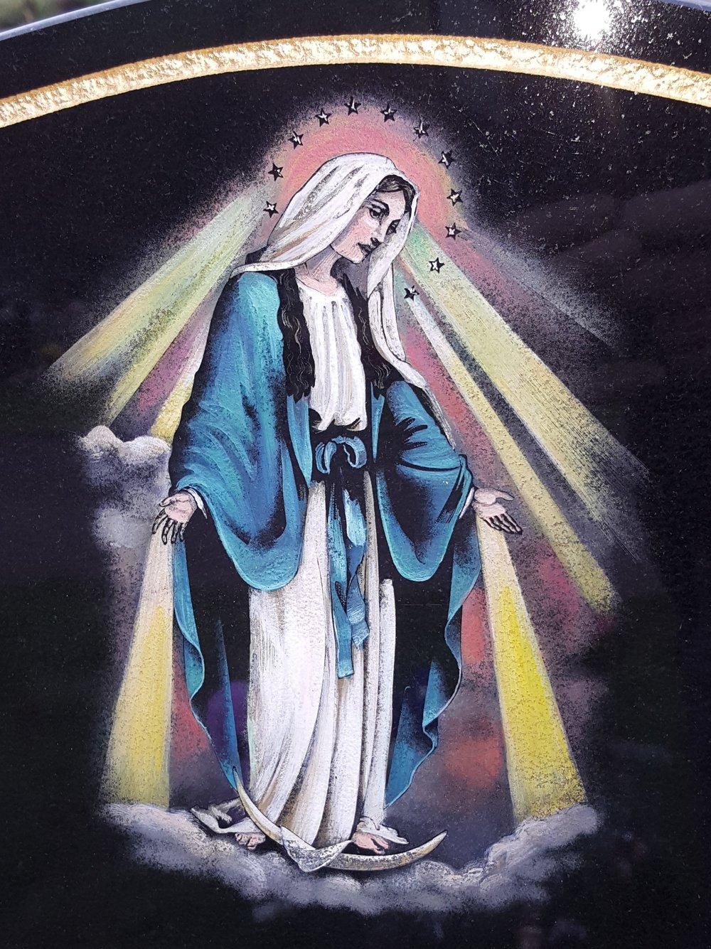 Coloured Mary