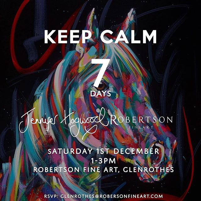 Can't wait for my event next weekend with @robertsonfineart 😁😃 . . . . . . #glenrothes #jenniferhogwood #robertsonfineart #artexhibition #artexhibitions #artscotland #animalart #animalartist #animalartists