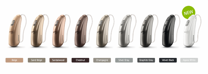 Phonak Audeo B available in nine colours
