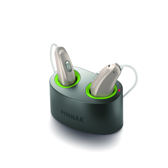 Phonak Audeo B-R with Mini Charger