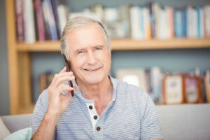 Phone call - Have a conversation on the telephone without struggling to hear what was said.