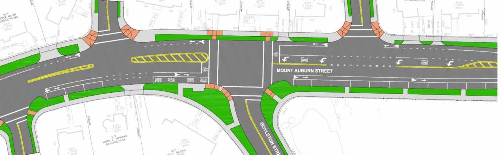 Plan for Mount Auburn Street
