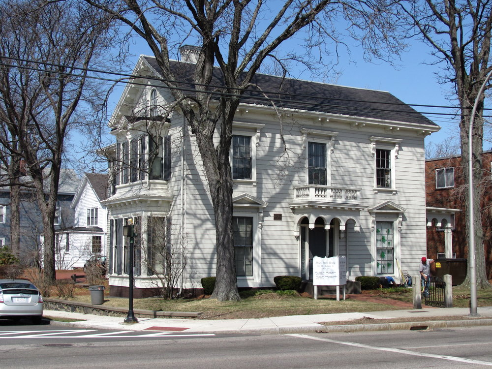 Miles Pratt House on Mount Auburn Street in Watertown