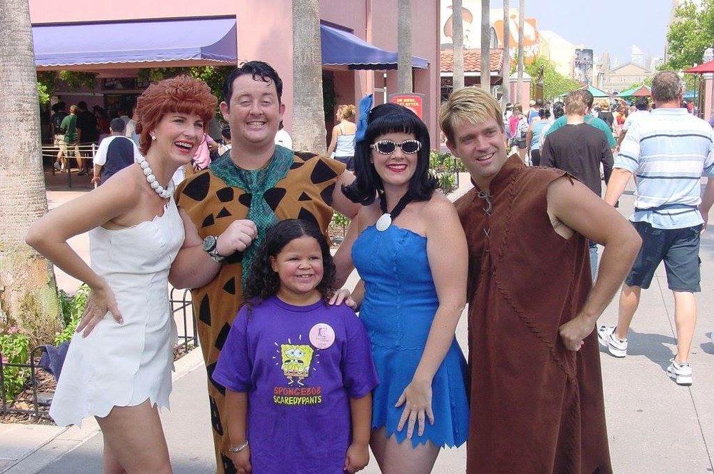 Meeting the Flintstone Family