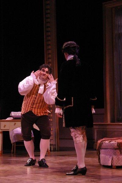 As Figaro in The Marriage of Figaro, Green Mountain Opera Festival 2009