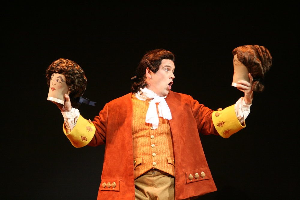 As Figaro in The Barber of Seville, Skylight Opera Theatre 2009