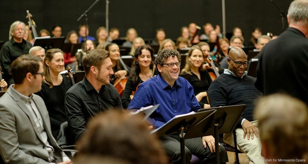 Workshop of The Shining, Minnesota Opera 2015