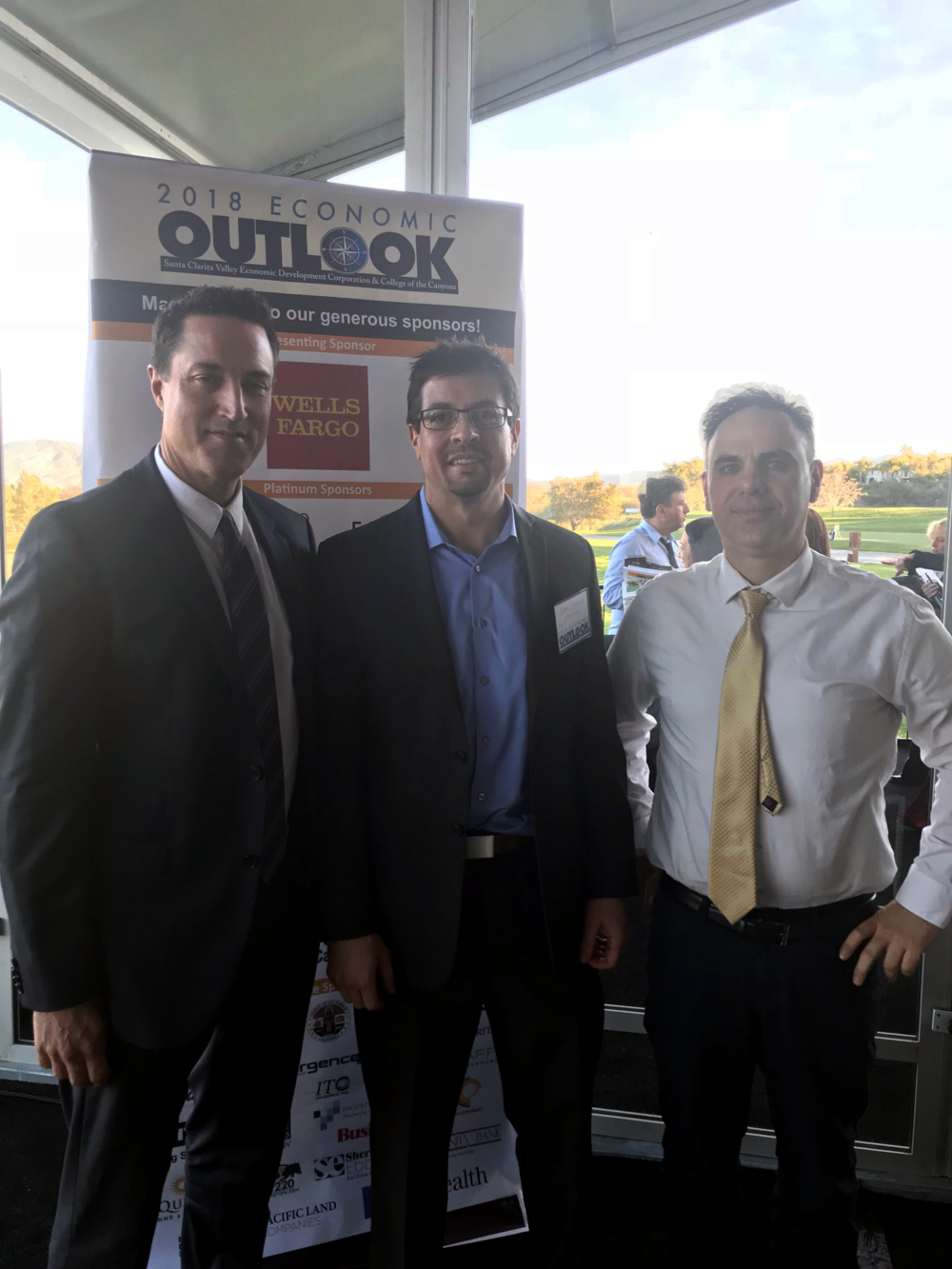 Senior Associate Paul Bellgraph, Executive Vice President John Cserkuti and Vice President Steve Body (left to right).
