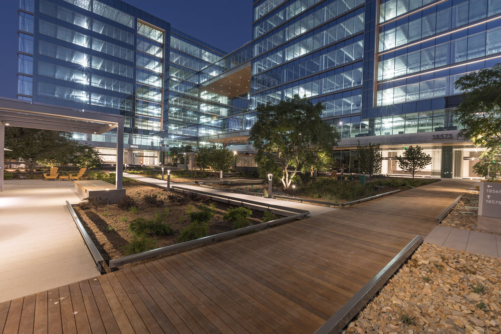The Boardwalk, a 545K SF office building in Irvine, was the largest delivery in 2017.