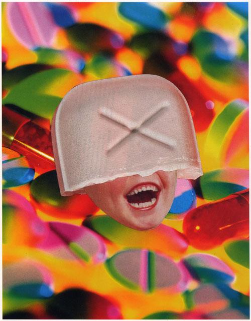 "Lil' Orphan Xannie (Analog Collage - 10"" x 8"")"