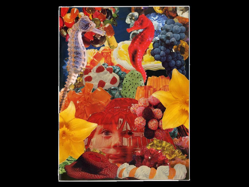 "Agar Agar (Analog Collage - 9.25"" x 12"" - 2018)"