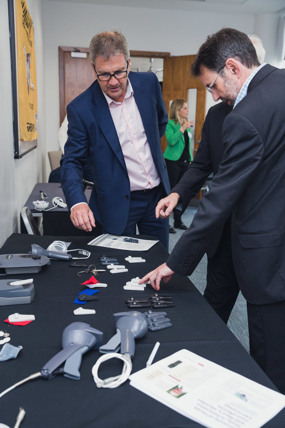 STPLUS1 Tag - A selection of the STPLUS1 Tags showcased at the Evolution Launch Day in London