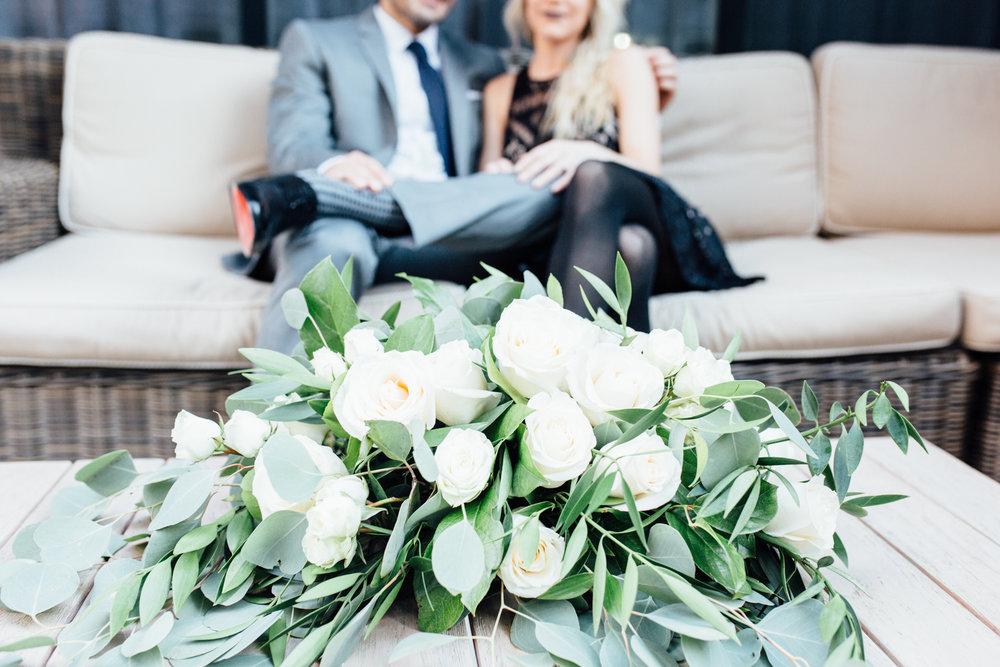 Floral Arrangement Roses | Wedding Proposal Planners | Exhale Event