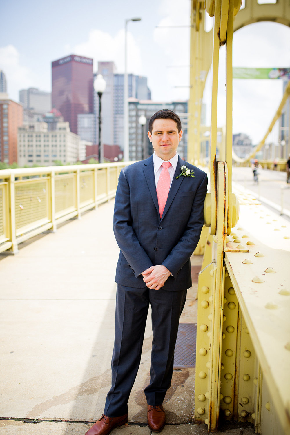 Groom's details for school-themed vintage wedding in Pittsburgh at Ace Hotel. See more fun details at exhale-events.com!