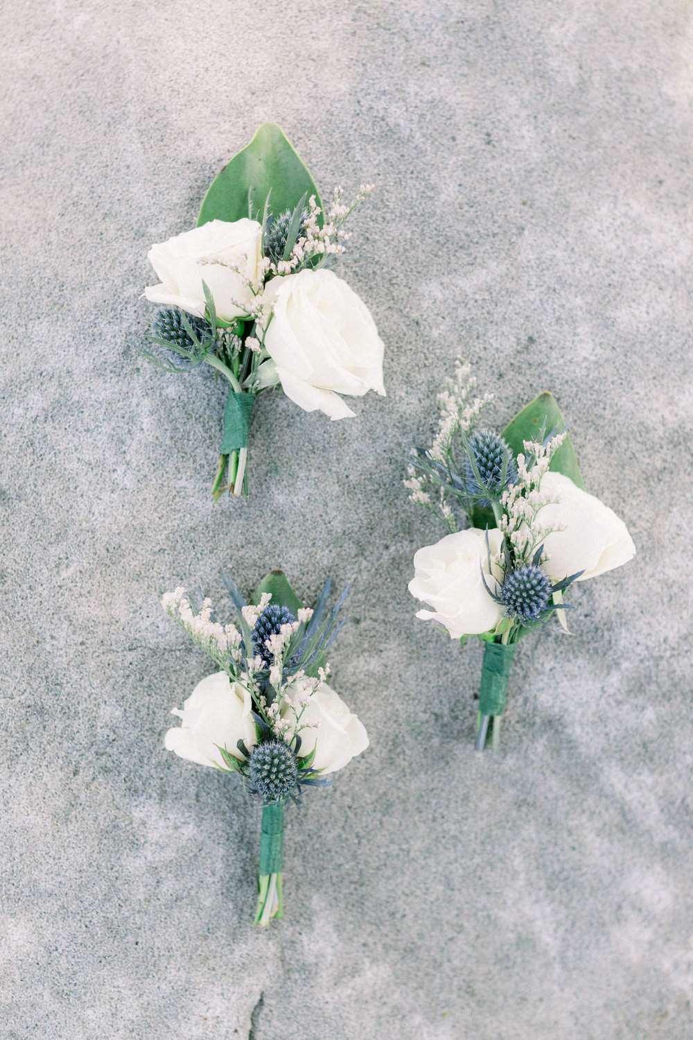 Boutonnieres for Pittsburgh wedding planned by Exhale Events. Find more wedding inspiration at exhale-events.com!