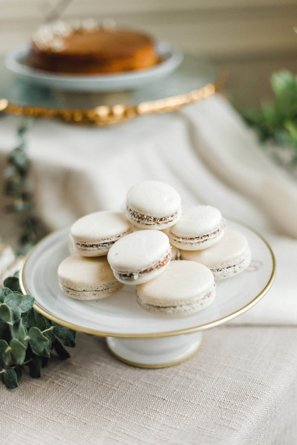 Charming wedding cake and dessert ideas for Pablo Neruda enchanting garden styled shoot planned by Exhale Events. Get inspired at exhale-events.com!