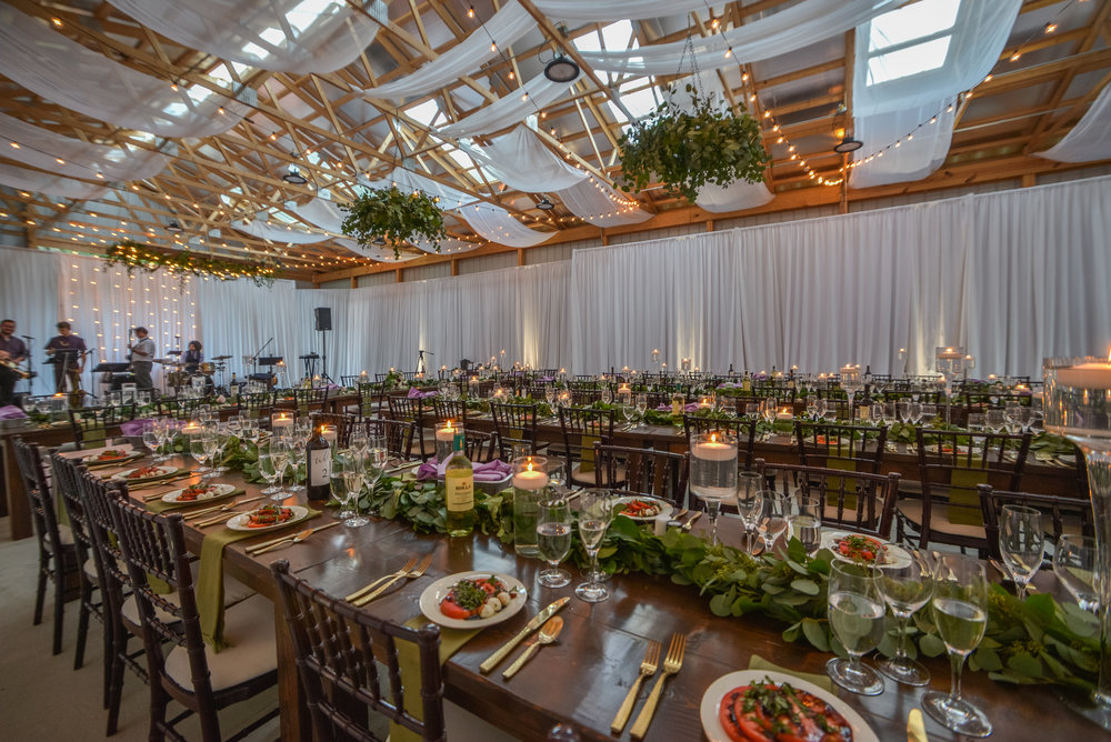 Wedding reception inspiration for wedding venue at Pittsburgh wedding planned by Exhale Events. Find more inspiration at exhale-events.com!