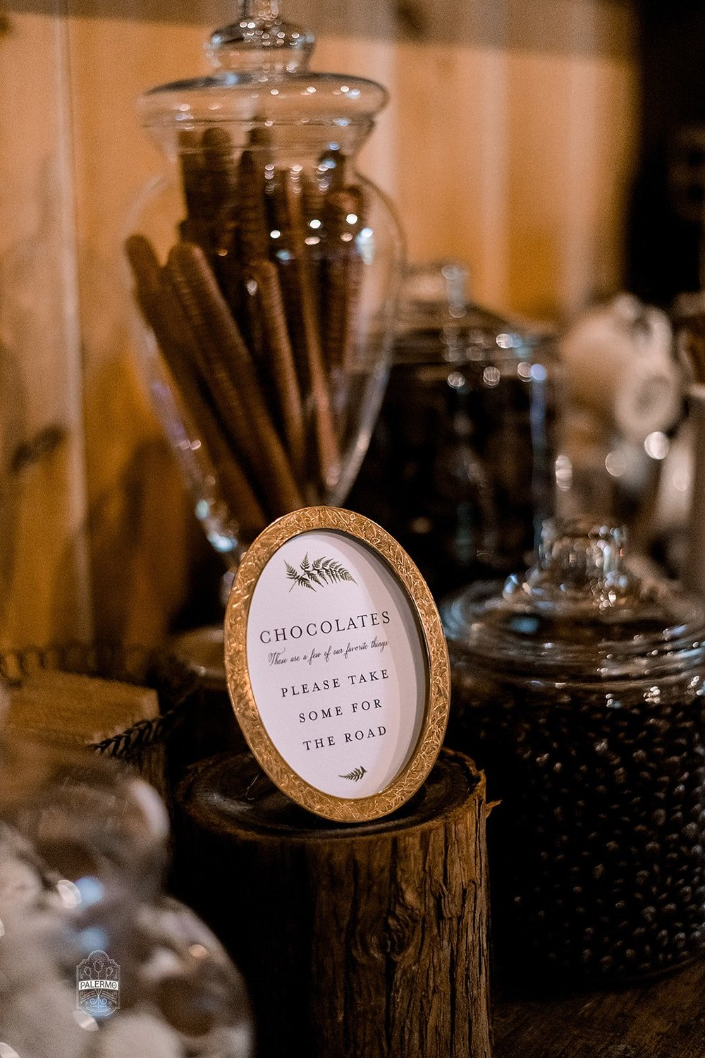 Wedding dessert table ideas for fall barn wedding in Pittsburgh, PA planned by Exhale Events. Find more wedding inspiration at exhale-events.com!