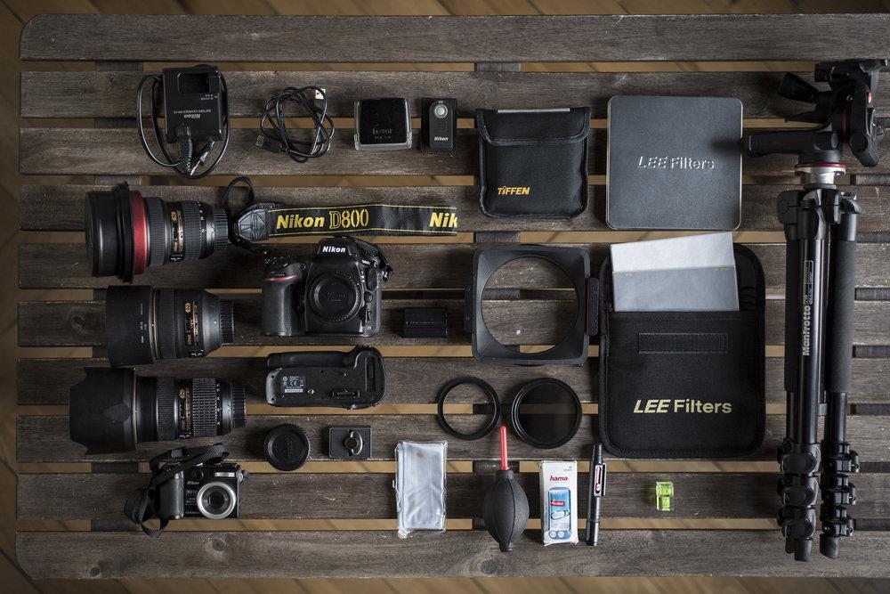 Meine Kameraausrüstung für Norwegen