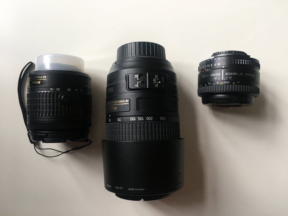 My lenses
