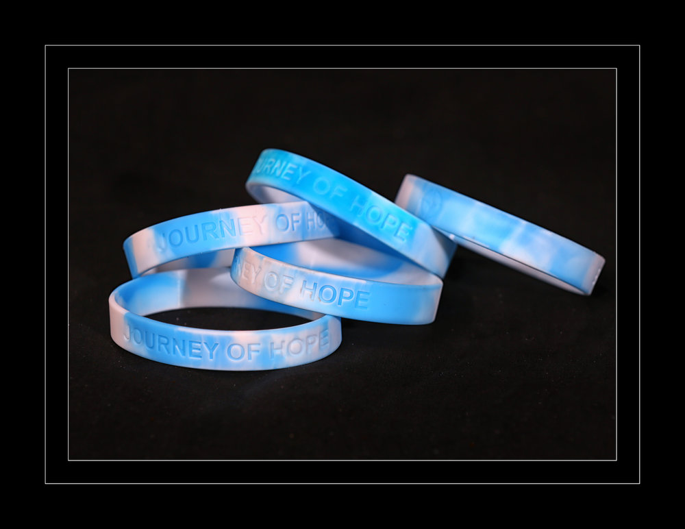 JOURNEY OF HOPE  Wristbands