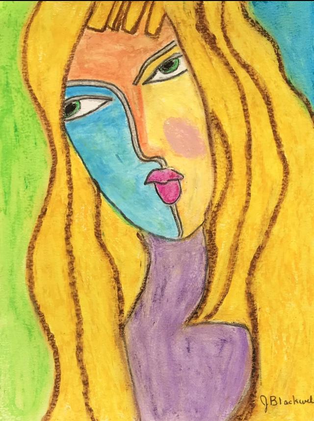 Janet Blackwell's Self Portrait