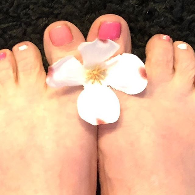 "I don't care that it snowed again in Michigan. I've got a ""spring in my toes!"""